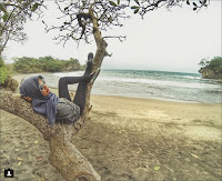 Location Route of Madasari Beach