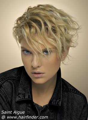 Peinados Y Looks De Moda Modernos Peinados Cortos Estilo Desigual - Peinados-cortos-modernos