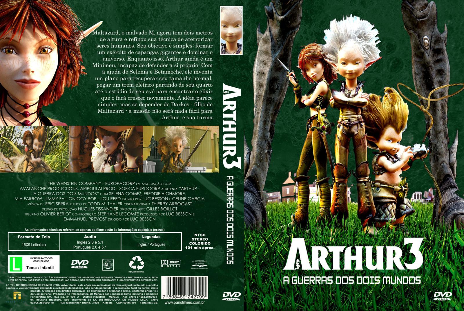 Play Video Locadora Dvd Arthur A Guerra Dos Dois Mundos