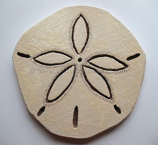 giant sand dollar crafts by amanda