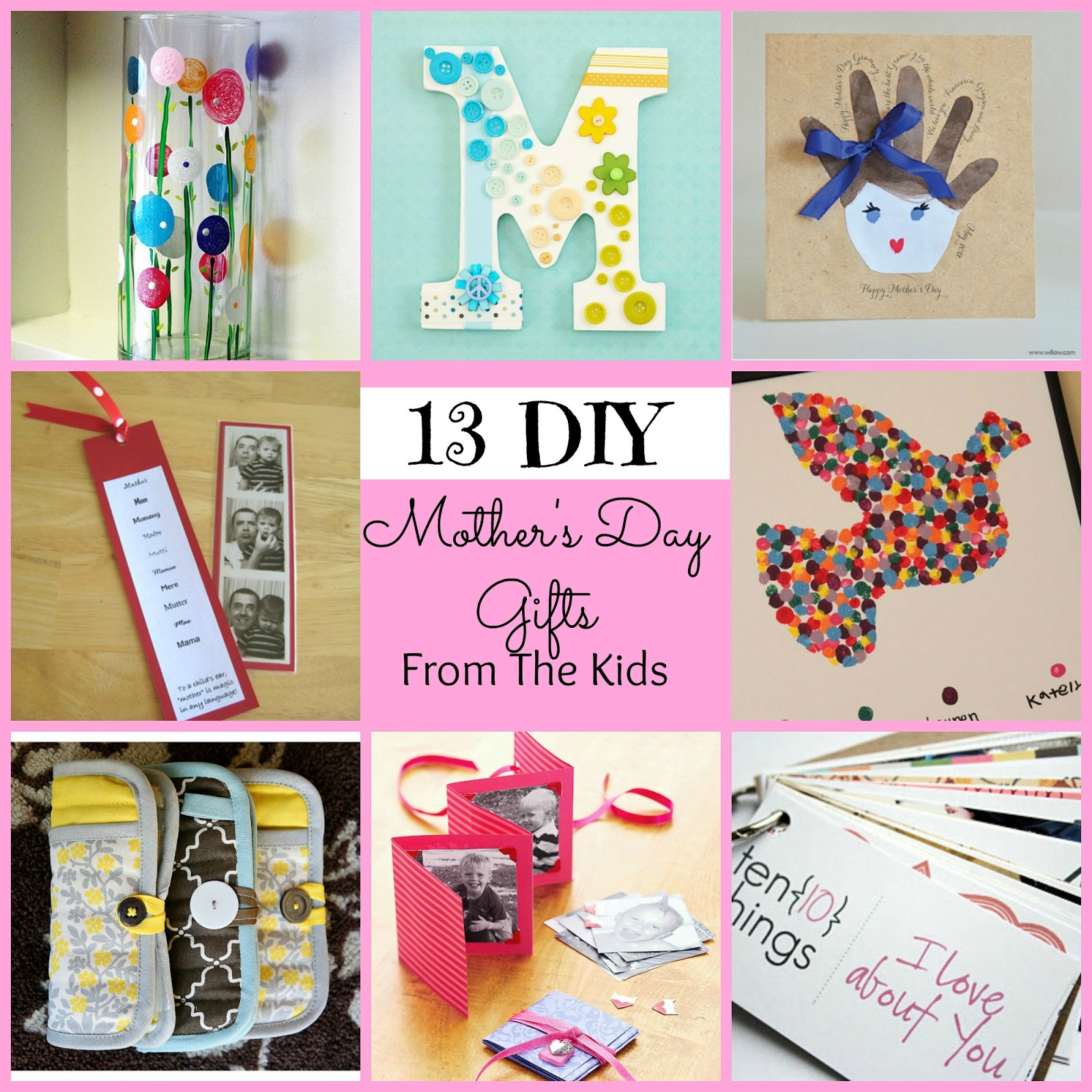 Awesome Diy Mother's Day Gifts Diy Mothers Day Gifts Craftbnb