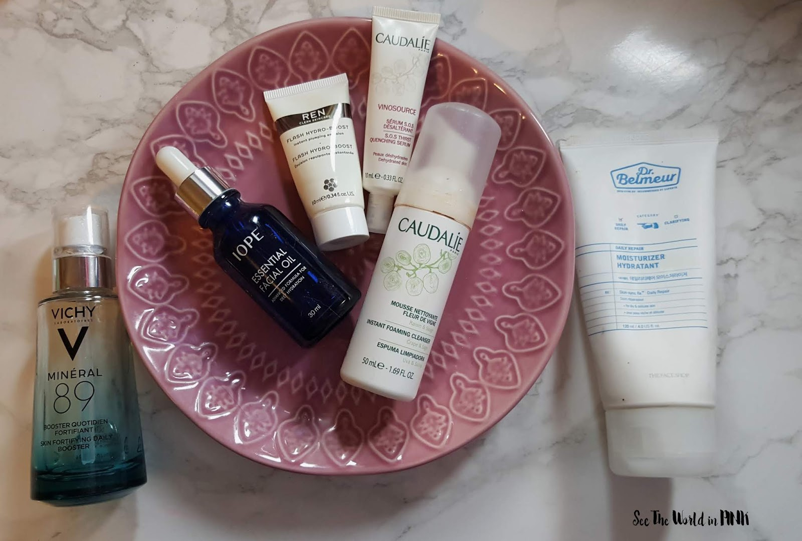 October 2018 - Monthly Empties + Month in Masks