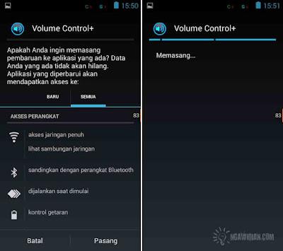 Mengatur Suara Android Dеngаn Volume Control+