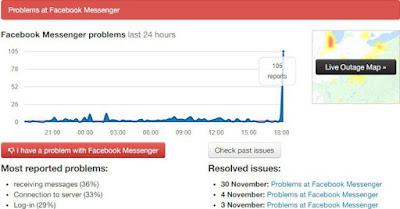 Facebook Messenger lại sập tại Việt Nam, khung chat trắng xóa không thể làm gì! - AnonyHome