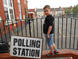 wimborne junior school milton portsmouth voting station general election