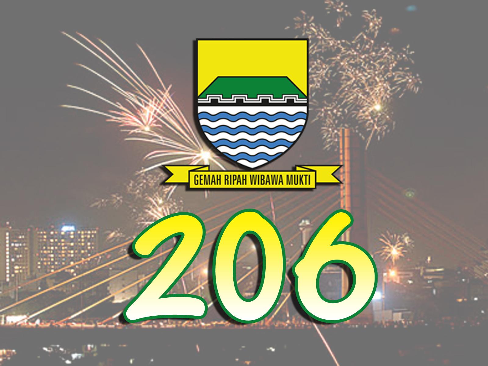Rangkaian Event Hari Jadi Kota Bandung ke-206 Tahun 2016