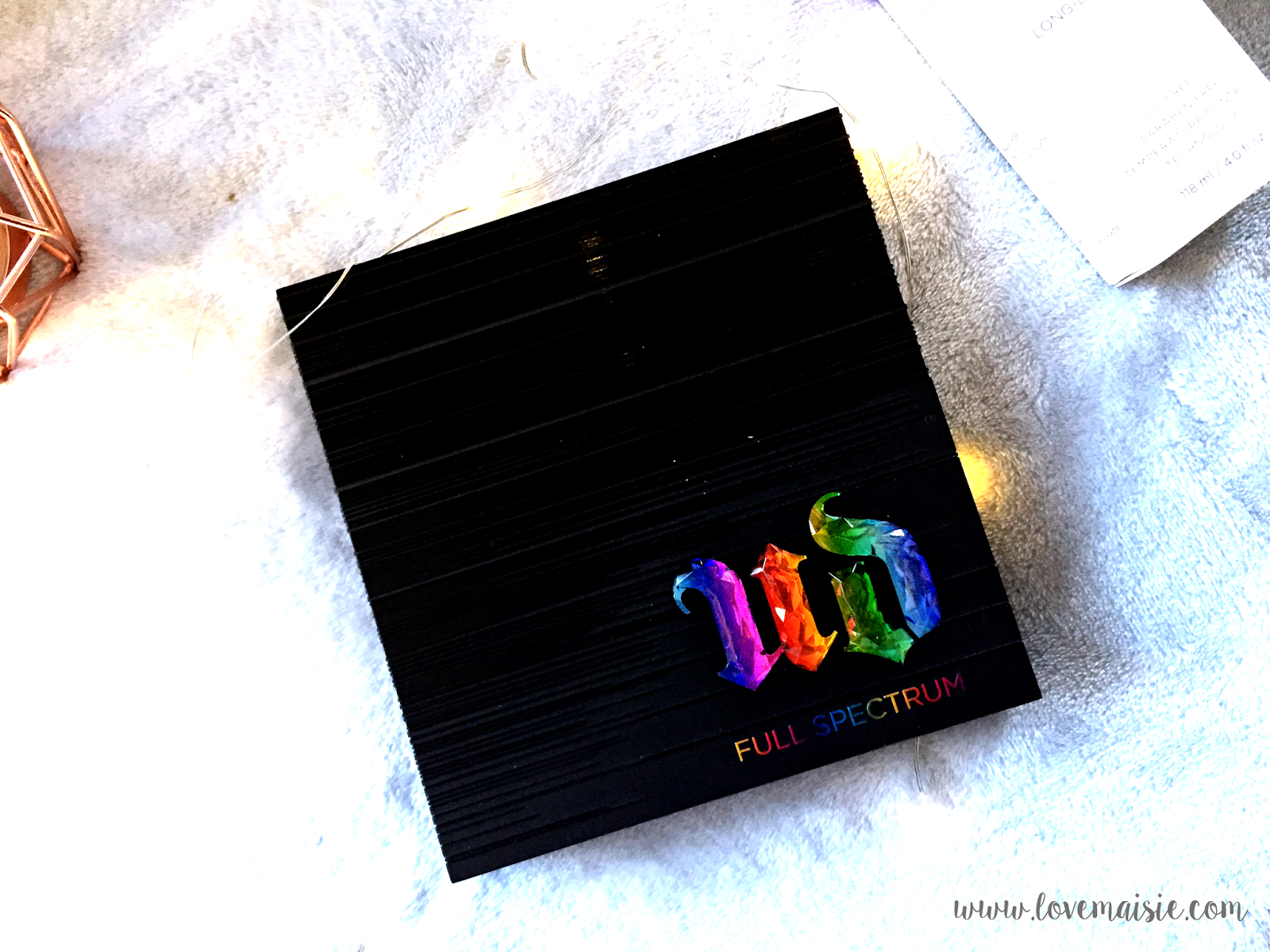 Urban Decay | Full Spectrum Palette | First impressions | Love, Maisie