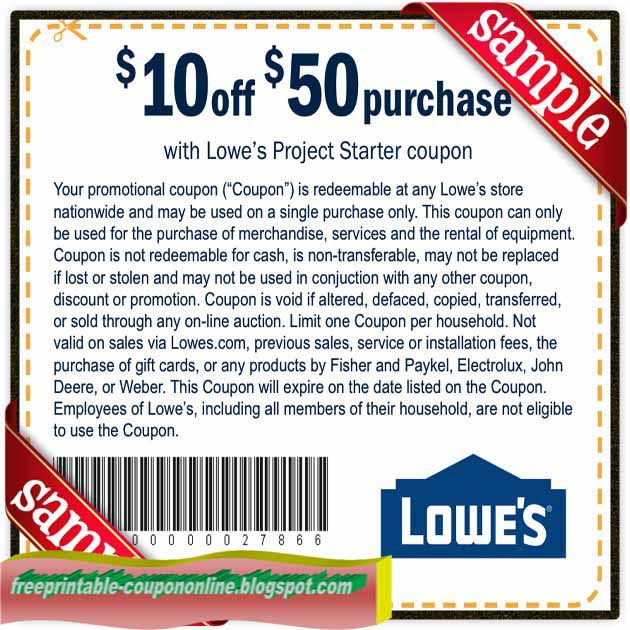 Lowes coupon code 2018