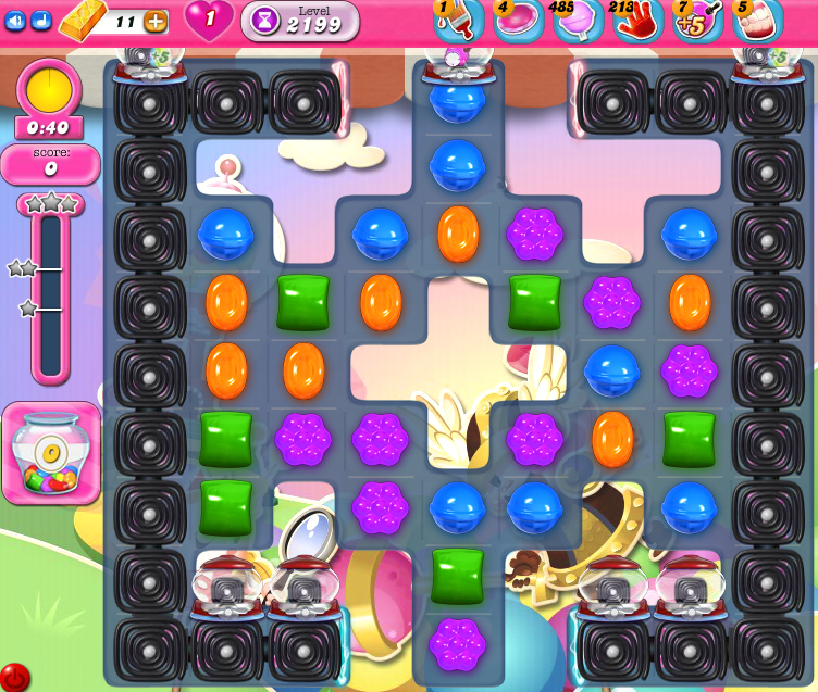Candy Crush Saga level 2199