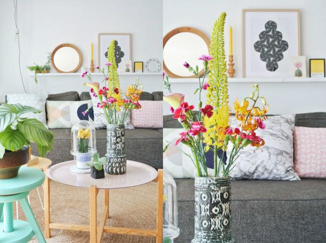 Estilo nórdico en Verano ¡Bienvenida la decoración a todo color!
