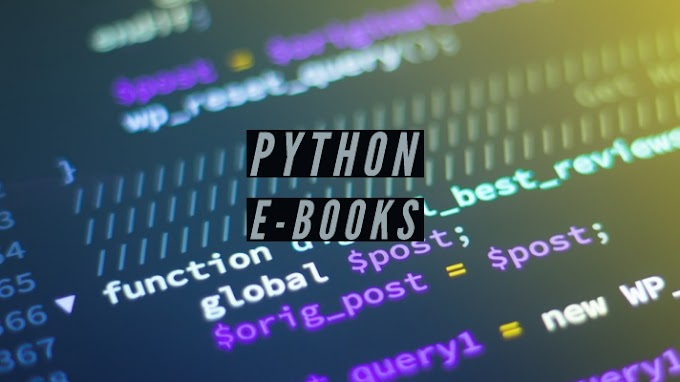 Download Free Python ebooks How to Study Python at Home