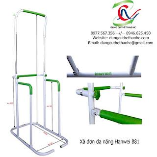 Xà đơn đa năng Hanwei 881 giá rẻ