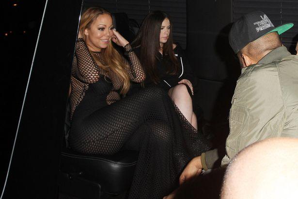 Warm Mariah Carey Seeing Her Naked Pic
