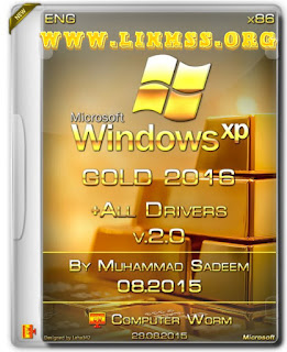 Gold Windows XP SP3 2016 (x86) + Drivers v2.0 Full -Activated (647 MB)
