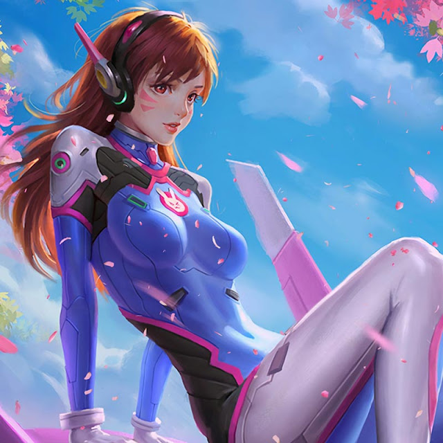 Sakura D.Va Wallpaper Engine