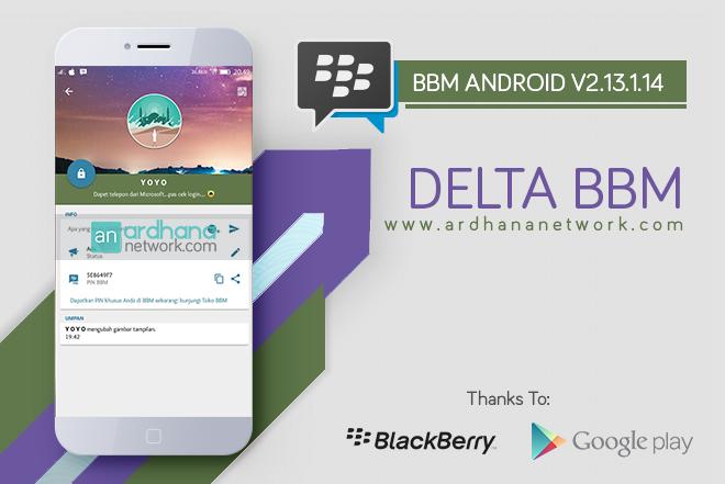 Delta BBM V3.5.3 - BBM MOD Android Full Fitur Terbaik