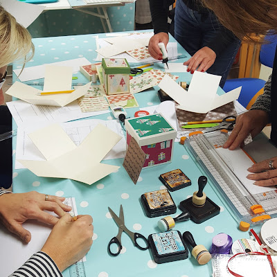 craft workshop Christmas box