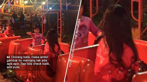 'Tengok video takde orang, tapi dalam gambar ada 'benda' rambut panjang mengurai' – Penampakan di Funfair Port Dickson