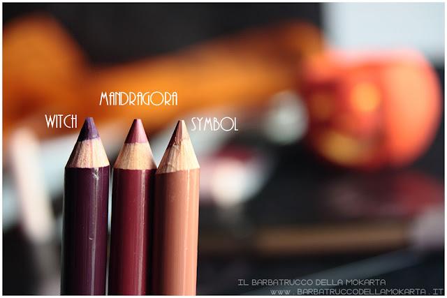 biopastello labbra recensione neogothic collection neve cosmetics