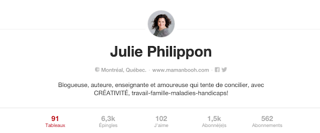 Saint-Valentin: mon tableau Pinterest Julie Philippon