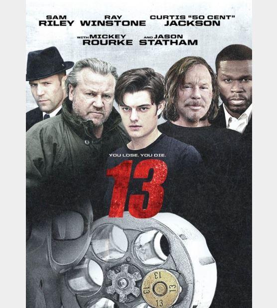 """Ταινία """"13"""" ελεύθερη στο youtube με ελληνικούς υπότιτλους Sam Riley, Jason Statham, Mickey Rourke"""