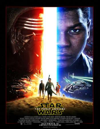 Star Wars: The Force Awakens 2015 Hindi Dual Audio BRRip Full Movie Download