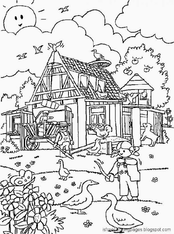 coloring pages playmobil - photo#16