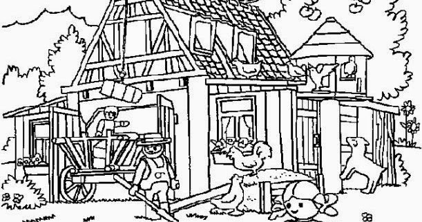 coloring pages playmobil - photo#34