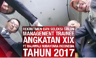 Lowongan Kerja BUMN Terbaru PT Rajawali Nusantara Indonesia (Persero) Tahun 2017