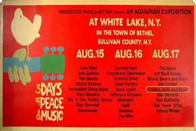 Prograna Woodstock 1969. Musicae Memorandum