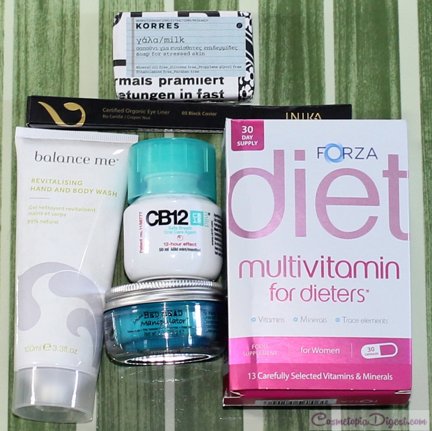 LookFantastic April 2015 beauty box review, unboxing, contents