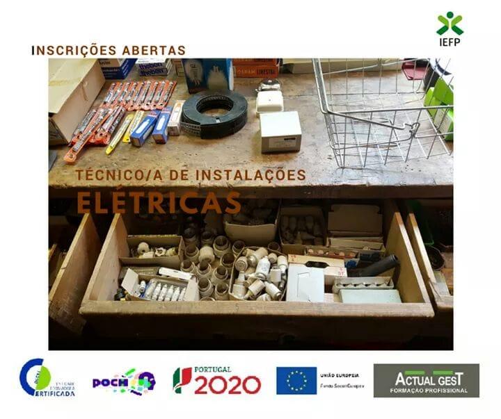 Curso de instalações eletricas em Gondomar
