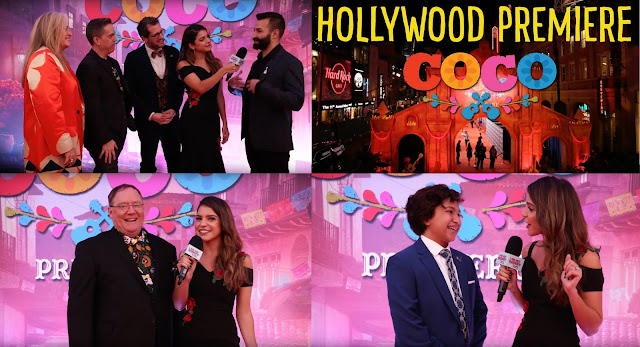 Pixar's Coco Hollywood Premiere