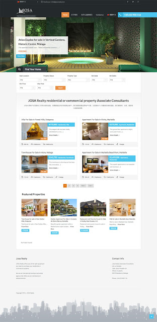 Real Estate WordPress Website Designers in Marbellahttp://josarealty.com/