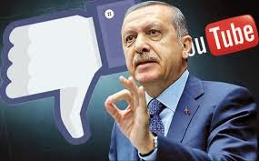 YouTube and Facebook, Turkey deprived of Facebook and YouTube, Recep Tayyip Erdogan, Turkish Prime Minister, social media,