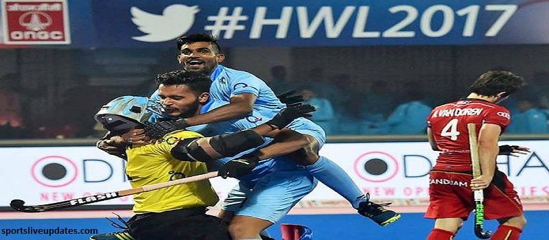 India vs Belgium Quarterfinal Match