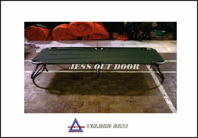 Pabrik Tenda TNI, Tempat, Produksi, Pembuat Velbed besi/ Folding bed tenda
