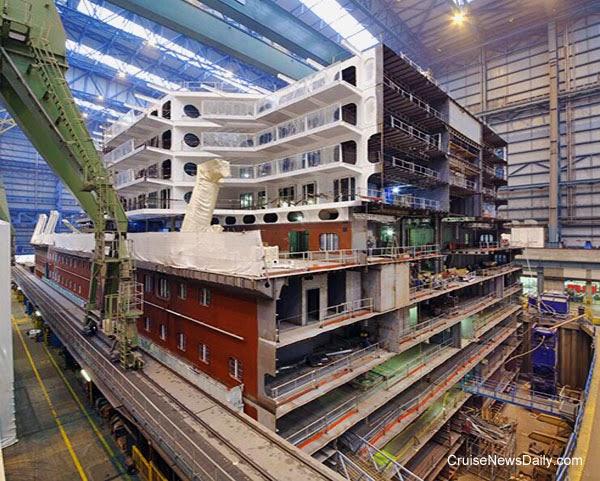 CND's Cruiseblogger: Quantum of the Seas Construction Update