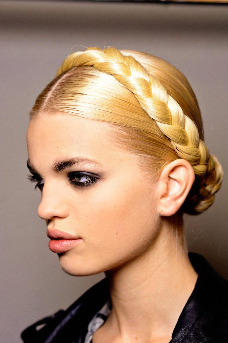Diferentes versiones peinados de moda Imagen de cortes de pelo Ideas - Estilos y Peinados de moda : Peinados con Trenzas para ...