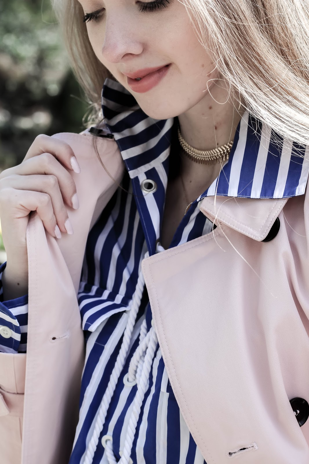 Spring Pastel Trench Coat Styling Options