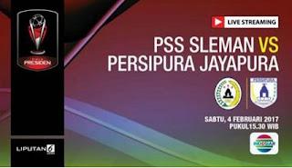Piala Presiden 2017 Resmi Dibuka, PSS Sleman vs Persipura Jadi Laga Perdana