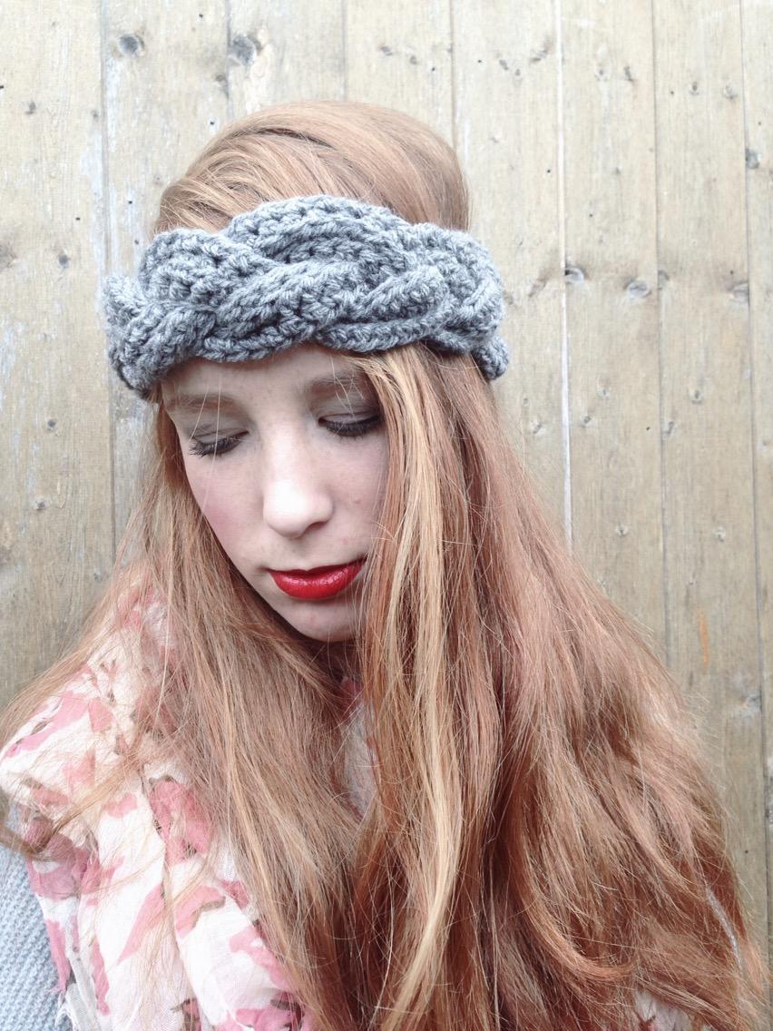 Braided Winter Headband b94f202e88e