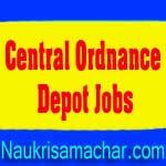 Central Ordnance Depot Jobs