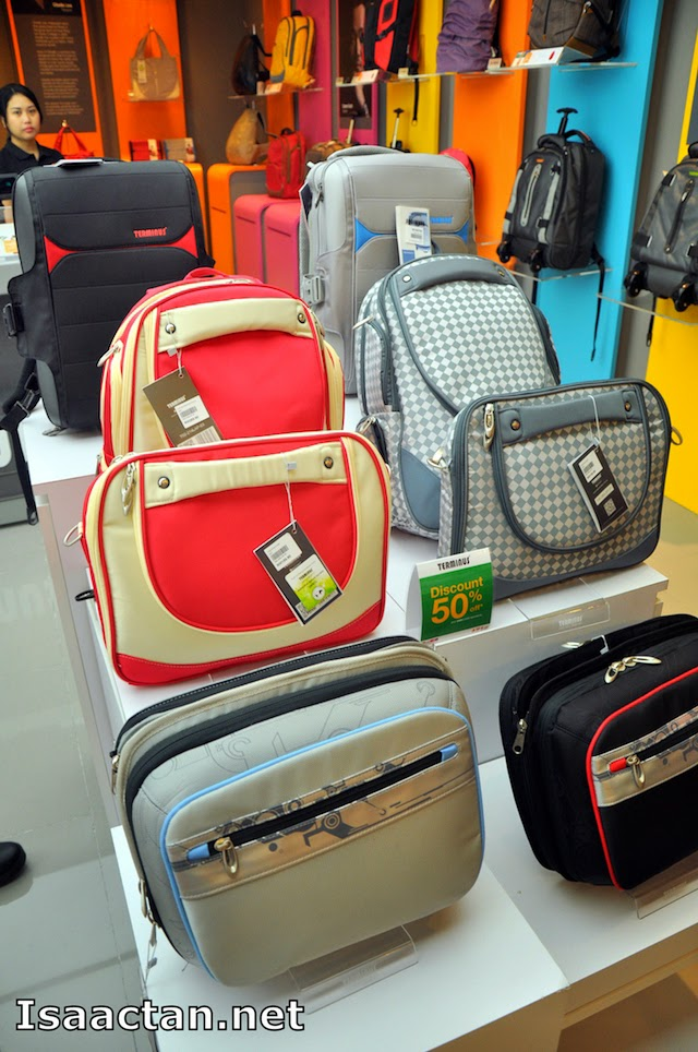 Make your choice, you can't go wrong with Terminus bags