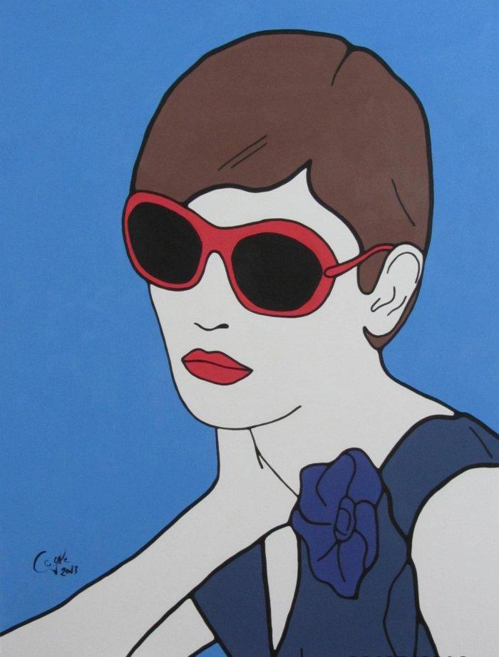 Картины в стиле поп-арт. Emma Coyle