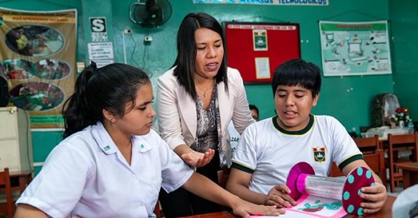 MINEDU: Destinan alrededor de 6 millones de soles para buenas prácticas docentes e innovación educativa - www.minedu.gob.pe
