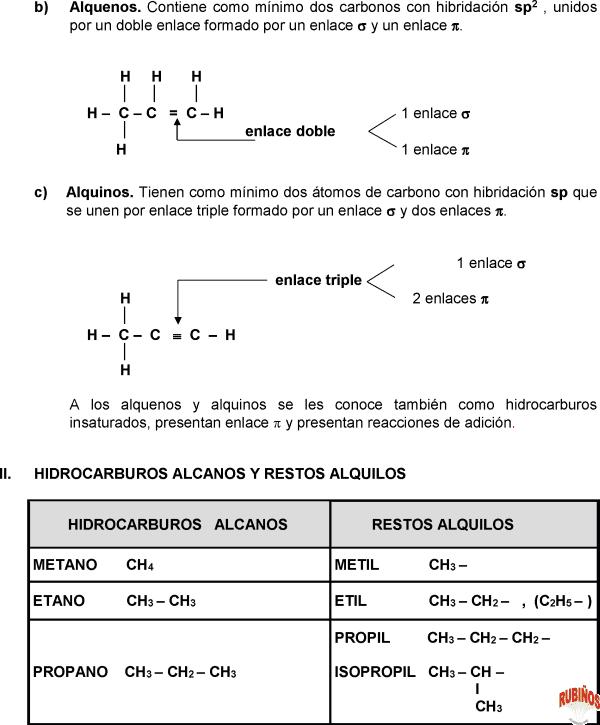 alquinos hidrocarburos alcanos alquenos pdf y