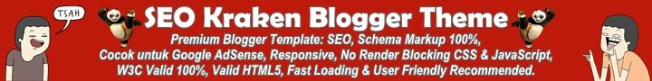 SEO Kraken Premium Blogger Template