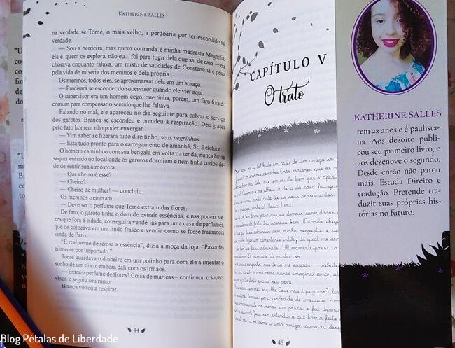Resenha, livro, Branca-de-Carvao, Katherine-Salles, Selo-Reino, Editora-Portal, trecho