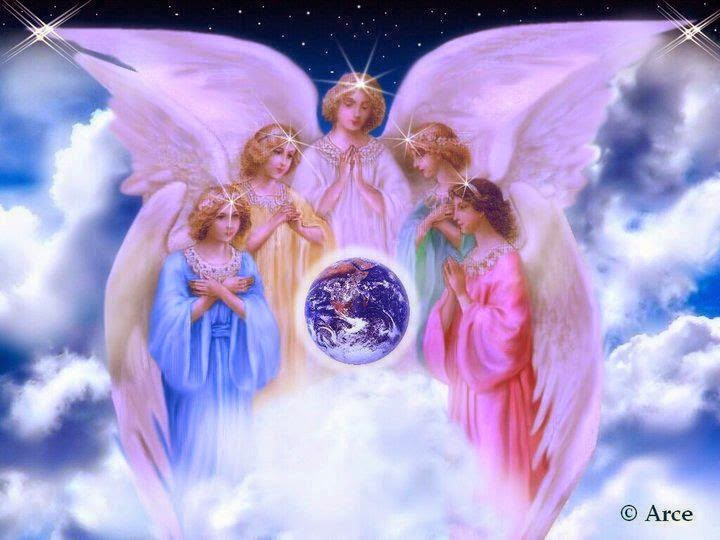 White Feathers: THE FIVE ANGELS OF PROSPERITY